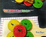 Bika Ambon Mini Rainbow 2 Telur langkah memasak 16 foto
