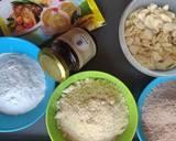 Kukis Almond #gluten free-casein free, eggless langkah memasak 4 foto