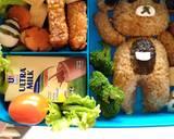 Bento Teddy Bear langkah memasak 5 foto