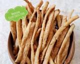 522. Celery Cheese Stick Krispi #SeninSemangat langkah memasak 9 foto