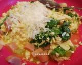 Spinach Omelette (Telur Dadar Bayam) langkah memasak 2 foto