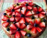 Erdbeertorte mit Pudding