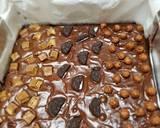 Brownies glossy crust and chewy inside langkah memasak 9 foto