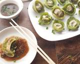 Spinach and Cottage Cheese Momos with Honey Chilli dip recipe step 18 photo
