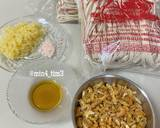 Taociam Ebi (Makanan khas Bagan) langkah memasak 1 foto