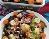Salad dressing dg labu parang langkah memasak 3 foto