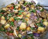 Oseng Klothok & Terong langkah memasak 3 foto