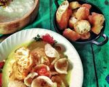 Bubur Kuah Kuning langkah memasak 6 foto