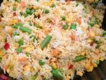Tojásos rizs mexikói zöldségkeverékkel recept lépés 3 foto
