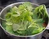 Sup Bening Bayam langkah memasak 4 foto