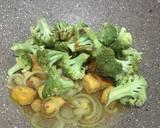 Ayam tahu brokoli saus tiram ala fe langkah memasak 2 foto
