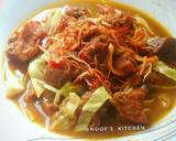 Tongseng Kerbau super duper pedas langkah memasak 8 foto