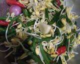 Tumis Kacang Panjang, Tauge, dan Jamur Kuping langkah memasak 1 foto