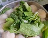 Pakcoy Kuah langkah memasak 2 foto