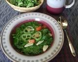 Sayur bening daun kelor langkah memasak 2 foto