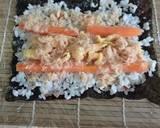 Nasi Gulung Salmon langkah memasak 3 foto