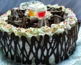 Bolu kukus pandan lapis coklat langkah memasak 11 foto