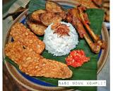 Nasi Uduk Komplit langkah memasak 14 foto