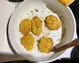 Trứng cốm đúc thịt bước làm 4 hình
