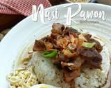Nasi Rawon langkah memasak 9 foto