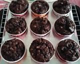 Chocolate Muffin langkah memasak 8 foto