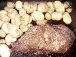Foto del paso 3 de la receta Colita de cuadril al horno con papas rústicas