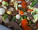 Capcay ala Chinese Resto langkah memasak 5 foto