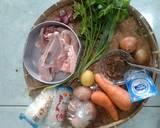 Sop/soto Banjar langkah memasak 1 foto