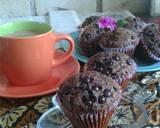 Muffin Coklat (No Mixer) langkah memasak 8 foto