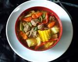 Tongseng Kambing Segar Sedap langkah memasak 3 foto