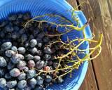 Black grapes rose Kvass recipe step 2 photo