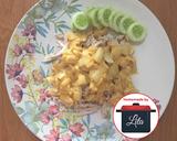 Ayam suwir bombay salted egg#homemadebylita langkah memasak 4 foto