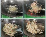 Toge ikan asin langkah memasak 3 foto