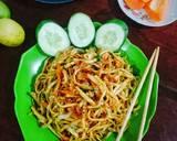 Mie Goreng Pipih langkah memasak 4 foto