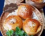 487. Roti Manis Isi Selai Nanas, lembut & moist langkah memasak 11 foto