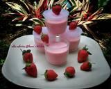 Yoghurt strawberry ice cream langkah memasak 10 foto