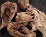 Tulang taleng ayam Dower langkah memasak 2 foto