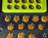 Gur dhana chocolate bitesWhen its engagement or wedding jaggery and coriander seeds are offered recipe step 2 photo