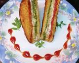 Three Layer Sandwich Bread Pakoda recipe step 8 photo