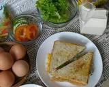 Roti Sandwich langkah memasak 3 foto