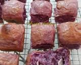 Roti sobek ubi ungu langkah memasak 11 foto