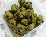 Cookies matcha chocochip langkah memasak 4 foto