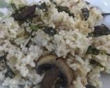 Nasi Jamur ala Jepang langkah memasak 5 foto