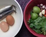 Telur Cue Kemangi langkah memasak 1 foto