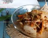 Mak Kimchi (Easy Kimchi) langkah memasak 15 foto