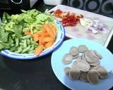 Tumis Sayuran Campur Bakso ala Nana Hanif langkah memasak 1 foto