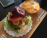 Beef Burger langkah memasak 5 foto