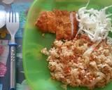 Nasi Goreng Katsu langkah memasak 4 foto