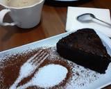 Super Moist Chocolate Cake with Glaze (no mixer no oven) langkah memasak 6 foto
