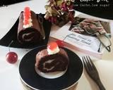 Roll Cake Diet langkah memasak 10 foto